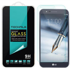 TechFilm Tempered Glass Screen Protector Saver Shield For LG Stylo 3 Plus