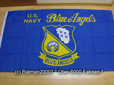 Fahnen Flagge US Navy Blue Angels - 90 x 150 cm