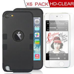 60°Full Body Protective Case w/Screen Protector For Apple iPod Touch 5th 6th CA
