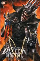 DARK NIGHTS DEATH METAL #1 IAN MACDONALD BATMAN WHO LAUGHS VARIANT LTD TO 3000