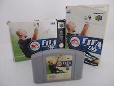 FIFA 99 - NINTENDO 64 - Jeu N64 PAL FRA Complet
