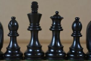 VINTAGE WEIGHTED CHESS SET