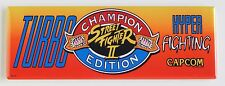 Street Fighter 2 Turbo Marquee FRIDGE MAGNET (1.5 x 4.5 inches) arcade