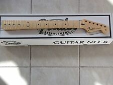 genuine fender stratocaster new modern replacement maple neck 099-4602-921