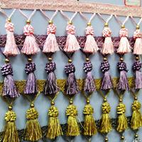 12 Yards/Lot Curtain Tassel Fringe Edging Trim Sewing Crafts Cushions Furnishing