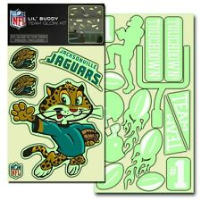 Jacksonville Jaguars Lil Buddy Glow in the Dark Decal Kit [NEW] Sticker Emblem