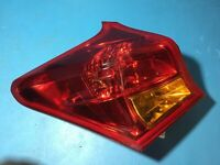 2014 Toyota Auris Left Hand Side Brake Taillight Assembly