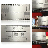 HD_ String Action Gauge Ruler Guide Setup Luthier Measuring For Electric Guitar
