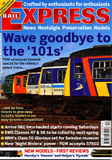 RAIL EXPRESS No.91 DEC 2003 Cross-Country HSTs,Clitheroe-Hellifield,Traction RS