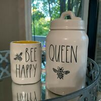 "Rae Dunn by Magenta LL ""QUEEN BEE"" Canister 