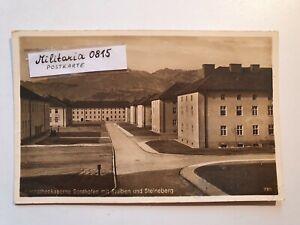 AK Ansichtskarte 1942 Karpathenkaserne Sonthofen mit Stuiben und Steineberg