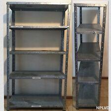 Antique Handmade Aluminium 5 Shelving & Storage at L 72 cm X W 30 cm X H 128 cm
