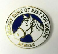 Enamel Bransby Home of Rest For horses Badge 2.5 cm's