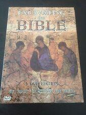 """Excavating The Bible"" (3 DVD Edition, 2006, PAL Reg 0) Dead Sea Scrolls, Mosaic"