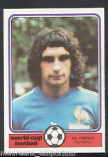 Monty Gum World Cup 1982 Football Card No 68 - Rocheteau - France
