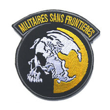 Medal Gear Solid MGS Peace Walker MILITAIRES SANS FRONTIERES Embroidered Patch