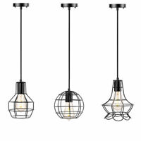 Kitchen Pendant Light Bar Ceiling Lights Bedroom Lamp Black Pendant Lighting