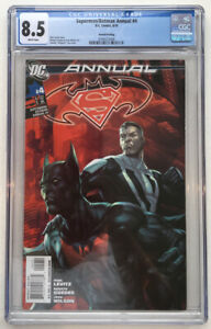 Superman/Batman Annual #4 2nd Printing CGC 8.5 VF+ DC Comic Batman Beyond