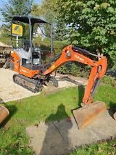 2015 KUBOTA KX015-4 1.5 Mini Digger Excavator