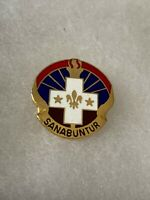 Authentic US Army 337th Combat Support Hospital DI DUI Unit Crest Insignia 22M