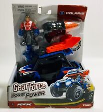 New Toy Gear Force Horsepower Turbo Polaris RZR Vehicle & Figure