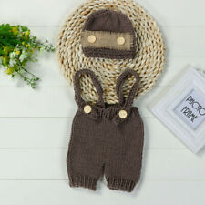 Newborn Toddler Baby Knit Crochet Clothes Costume Photo Photography Props Outfit