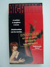 Almodovar's High Heels VHS Video Promo Screener Victoria Abril Marisa Paredes