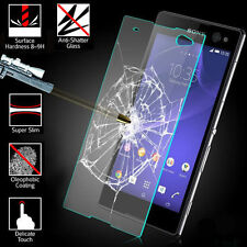 2X Premium Tempered Glass Screen Protector Film  fr Sony Xperia Z2 /Z3 Z5Compact