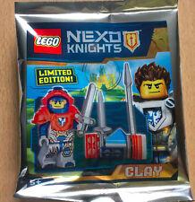 Lego Nexo chevaliers rouge Scurrier x3 avec armes