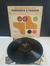 FERRANTE AND TEICHER GOLDEN PIANO HITS VINYL LP UNITED ARTISTS ORIGINAL V.G.