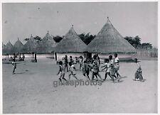 MOYEN-CONGO c. 1940 - Brazzaville Enfants Camp des Tirailleurs - PA24
