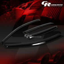 SMOKED CAR WINDOW VISOR/WIND DEFLECTOR VENT RAIN SHADE FOR 98-04 AUDI A6 WAGON
