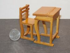 Dollhouse Miniature Small Desk & Chair Set 1:12 inch scale N67 Dollys Gallery