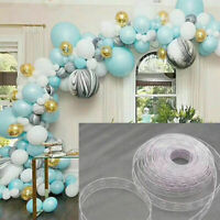 5M Balloon Chain Tape Arch Connect Strips for Wedding Birthday Party Decor Gift