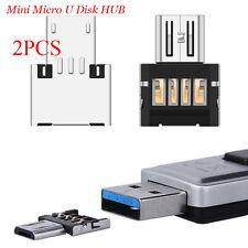 2X Mini micro usb OTG adapter Date Reader HUB card f Android samsung Nexus Phone