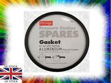 GENUINE Prestige Aluminium Pressure Cooker Black Gasket Seal 96430 Spare Parts