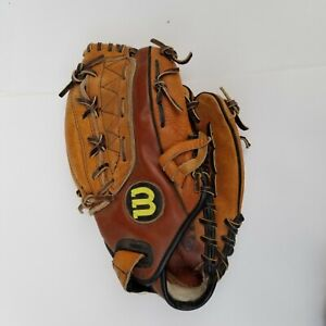 """Baseball Glove Wilson A9645 Dual Stall Right Handed Thrower Leather 11.5"""" FPS"""