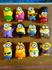 McDonalds Minions Happy Meal Toys 2015 FULL SET 1-12