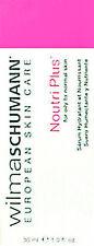 Wilma Schumann Noutri Plus Serum 30ml(1oz)Oily To Normal Acne Skin Brand New