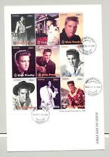 Tanzania #1439C Elvis Presley 1v M/S of 9 on FDC