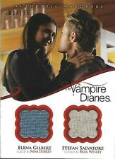 2013 The Vampire Diaries Season Two Dual Wardrobes #DM3B Gilbert/Salvatore /175