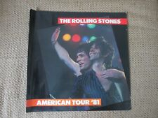 The Rolling Stones Official American Tour Book 1981