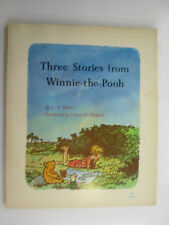 Three Stories From Winnie The Pooh, A A Milne, Scholastic Paperback, 1969