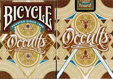 CARTE DA GIOCO BICYCLE OCCULTS,poker size
