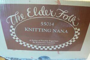 The Elder Folk Doll and Unidentified 65cm Female Doll, Both Unused, Ex. Cond.