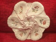 Oyster Plate Authentic Antique Oyster Plate French Majolica Faience , op497
