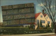 LINEN - Celotex Asphalt Roof Shingles Advertising Baldwin KS Postcard