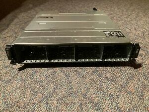 Dell EqualLogic PS4100X 2U iSCSI SAN Storage Array - PSUs included