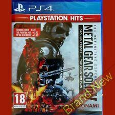 Metal Gear Solid 5 (5) la experiencia definitiva MSG PlayStation 4 PS4 Nuevo