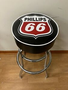 Phillips 66 Gas Sign Bar Stool Stools